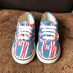 Vans flag shoes 🇺🇸
